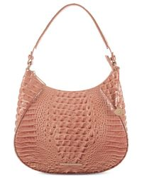 Brahmin | Pink Amira Melbourne Large Hobo | Lyst