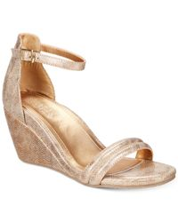 Kenneth Cole Reaction Multicolor Women's Cake Icing Wedge Sandals
