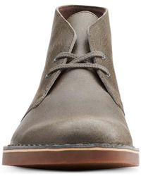 Clarks Gray Shoes, Bushacre 2 Chukka Boots for men