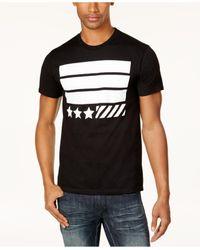 INC International Concepts   Black Men's Graphic Print T-shirt for Men   Lyst