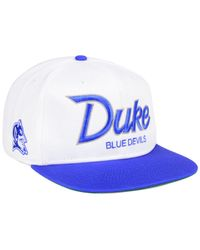 9bb2cfb810730 Nike Duke Blue Devils Sport Specialties Snapback Cap in White for ...