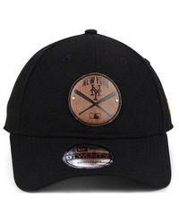 the best attitude eb905 be060 Lyst - KTZ New York Mets Cross Bats 9twenty Cap in Black for Men