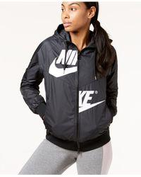 Nike - Black Sportswear Windrunner Jacket - Lyst