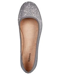 Style & Co. Metallic Angelynn Flats, Created For Macy's