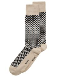 Alfani - Gray Diamond-print Socks, Created For Macy's for Men - Lyst