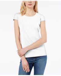 Weekend by Maxmara - White T-shirt - Lyst