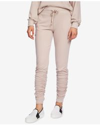 1.STATE Multicolor Ruched Jogger Pants