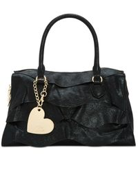 Betsey Johnson - Black Just For The Frill Of It Satchel - Lyst