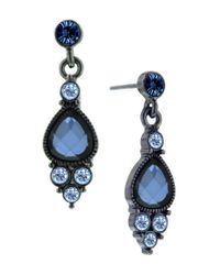 2028 | Montana Blue Crystal Drop Earrings, A Macy's Exclusive Style | Lyst