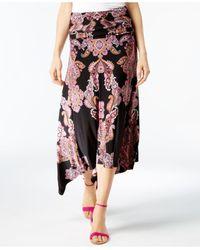 INC International Concepts - Multicolor Petite Convertible Printed Maxi Skirt - Lyst