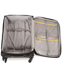 "Delsey - Black Helium Fusion 21"" Expandable Rolling Suitcase for Men - Lyst"