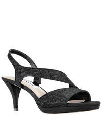 Nina Black Nasreen Platform Sandals
