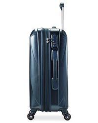 "Samsonite Blue Vibratta 21"" Carry-on Hardside Spinner Suitcase"