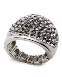 INC International Concepts | Multicolor Ring, Silver-tone Stretch Bling Ring | Lyst