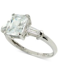Giani Bernini | Metallic Cubic Zirconia Ring In Sterling Silver | Lyst