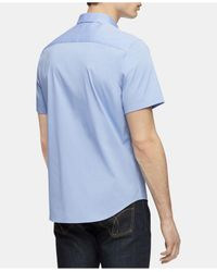 Calvin Klein Blue Button-up Shirt for men