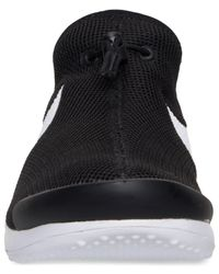 Nike Black Women's Aptare Casual Sneakers From Finish Line