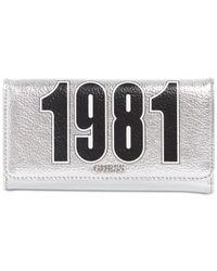 Lyst - Guess Felix Metallic Wallet in Metallic 18e3e79494722