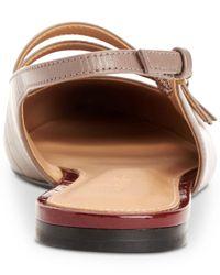 Calvin Klein - Multicolor Women's Genevieve Slingback Flats - Lyst