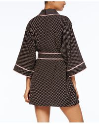 Kate Spade - Multicolor Dotted Short Robe - Lyst