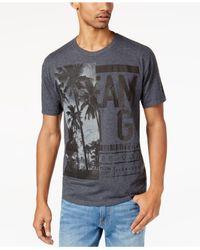 Sean John - Gray Men's Half Life Graphic-print T-shirt for Men - Lyst
