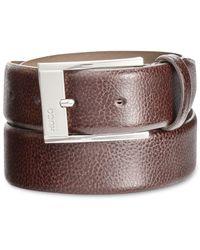 BOSS Multicolor Men's Leather C-ellot Dress Belt for men