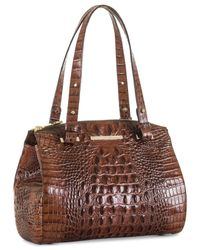Brahmin - Brown Melbourne Small Alice Tote - Lyst