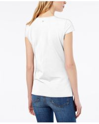 Weekend by Maxmara - White T-shirt - Lyst
