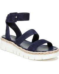 Franco Sarto Blue Jackson Sport Sandals