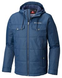 Columbia Blue Tinline Trail Insulated Coat for men