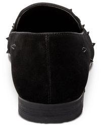 Steve Madden - Black Men's Cascade Smoking Slippers for Men - Lyst