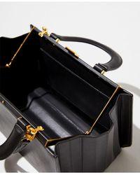 Mango Black Accordion Fold Bag