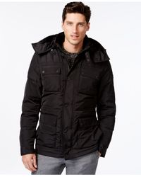 Michael Kors | Black Libson Parka for Men | Lyst
