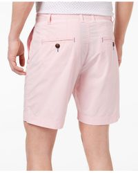 """Con.struct Pink Stretch 7"""" Shorts, Created For Macy's for men"""