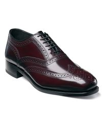 Florsheim | Purple Lexington Wing-tip Oxford Shoes for Men | Lyst