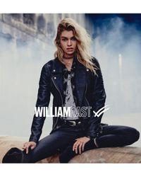 William Rast Black Alexa Faux Leather Moto Jacket