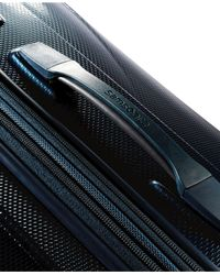 "Samsonite - Blue Vibratta 25"" Hardside Spinner Suitcase - Lyst"