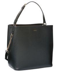 DKNY Black Bryant Medium Bucket Bag