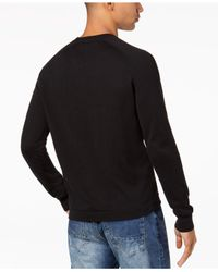Sean John - Black Men's Colorblocked Raglan Shirt for Men - Lyst