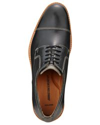 Johnston & Murphy | Black Men's Campbell Cap-toe Oxfords for Men | Lyst