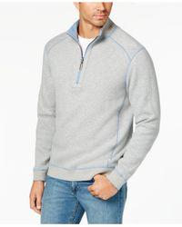 Tommy Bahama - Blue Reversible Flip-side Classic Sweatshirt for Men - Lyst