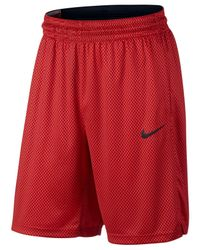 Nike - Red Men's Dri-fit Basketball Shorts for Men - Lyst