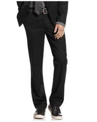 Kenneth Cole Reaction - Black Pants, Slim Fit Dress Pants for Men - Lyst