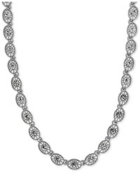 2028 - Metallic Crystal Filigree Collar Necklace - Lyst