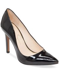 Jessica Simpson Black Cassani Pumps, Created For Macy's