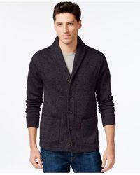 Levi's Black Rand Shawl-collar Cardigan for men