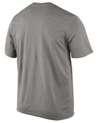 Nike Gray Men's Boston Red Sox Legend Wordmark T-shirt for men