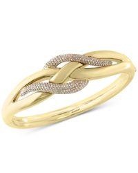 Effy Collection - Metallic Diamond Electro Bangle Bracelet (9/10 Ct. T.w.) In 14k White Gold - Lyst