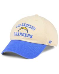 47 Brand Blue Steady Two-tone Clean Up Cap for men
