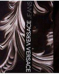 Versace Black Graphic T-shirt for men